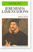 Jeremiah & Lamentations, Vol. 5 only, John Calvin, Hard Cover