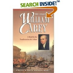 The Legacy of William Carey, Vishal & Ruth Mangalwadi, Paper Back