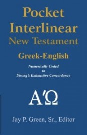 Pocket Interlinear Greek-English New Testament, Jay P. Green, Sr., Paperback